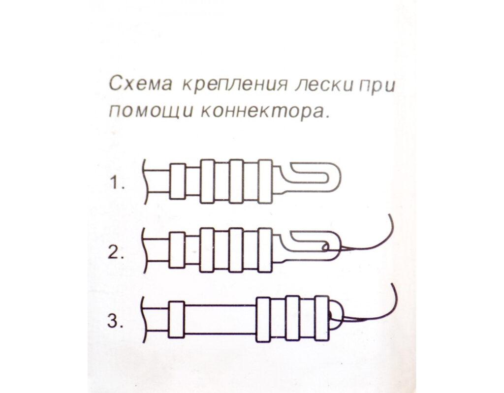 Коннекторы для маховых удилищ