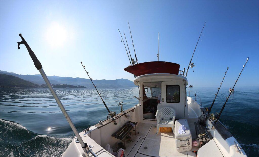Ловля на пилькер в море